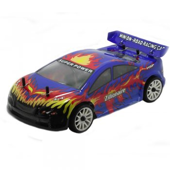 HSP Zillionaire 1/16 Scale Electric RC On Road Car with 2.4GHz Radio