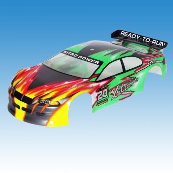 Wind Hobby 01023 1/10 Scale RC Car Painted Body Shell HSP Wind Hobby etc