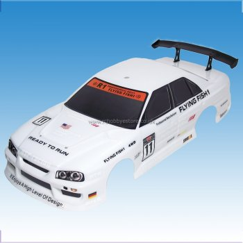 Wind Hobby 12330-W 1/10 Scale RC Car Painted Body Shell T3