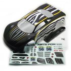 10131 1/10 Scale RC Drift Car Painted Body Shell