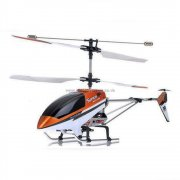 9051 3ch Metal Frame Helicopter with Gyro, LED Lights and Radio included.