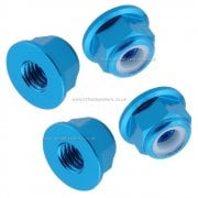 122049 (02190) Aluminium M4 Blue Wheel Nuts 4P HSP RC Car Upgrade Part