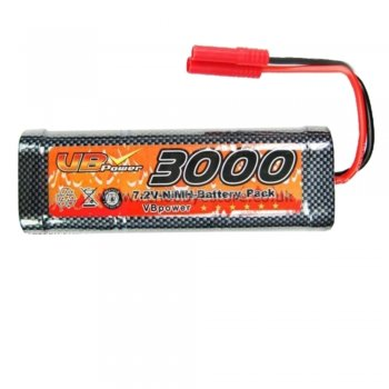 VB Power 03019 7.2V 3000mAh NiMH Battery with ES2 Connector