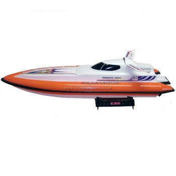 DH Superlative 7007 Hi Speed RC EP Speedboat Complete RTR with Radio