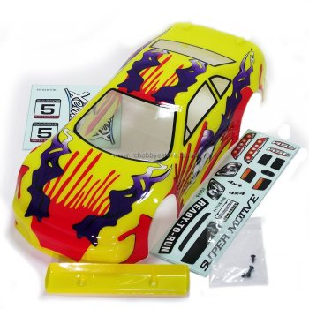 HSP 01014 1/10 Scale On-Road Car Painted Body Shell