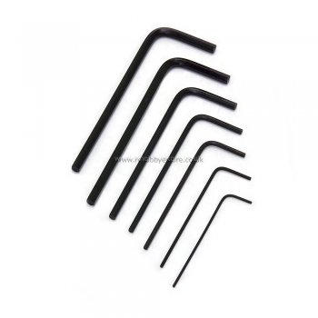 Miniature HEX Key Set - Precison Allen Keys