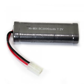 HSP 03200-TAM 7.2V 2000mAh NiMh battery for 1/10th scale RC Cars & Trucks