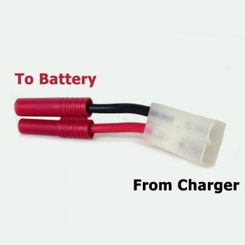 Charging Adapter Cable - Tamiya charger to ES2 Battery
