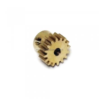 HSP 28019 Motor Pinion Gear (16T) Brass for 1/16 RC Truck