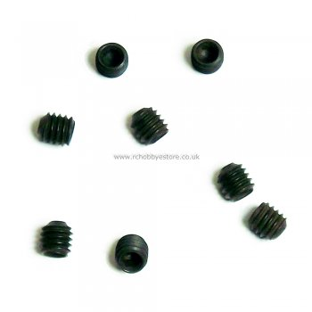 HSP 02099 Hex Grub Set Screw M4*4 Pack of 8 HSP Spare Part