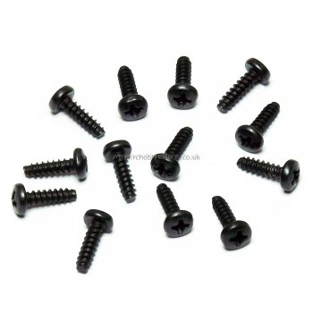 HSP 81220-13 Cap Head Self-tapping Screw 3*10mm 13pcs. HSP Himoto Wind Hobby Spare Parts