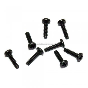 HSP 81220-14 Cap Head Self-tapping Screw 3*14mm 8pcs. HSP Himoto Wind Hobby Spare Parts