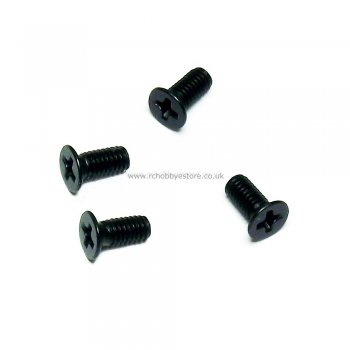 HSP 28016 M2.6*4mm Countersunk machine Screws 4pcs. HSP Himoto Wind Hobby Spare Parts