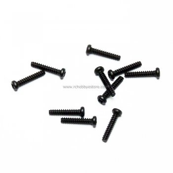 HSP 02086 2*10 Cap Head Self-tapping Screw 10pcs. HSP Himoto Wind Hobby