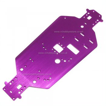 HSP 06001 Aluminium Chassis for 1/10 scale Nitro Buggy, Truck