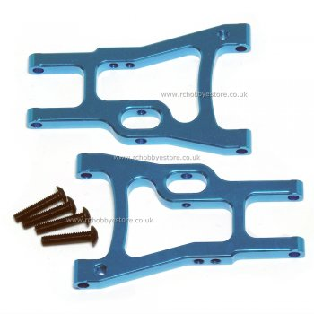 HSP 102021 Blue (02160B) Alloy Rear Lower Suspension Arm 1/10th HSP RC Car Parts