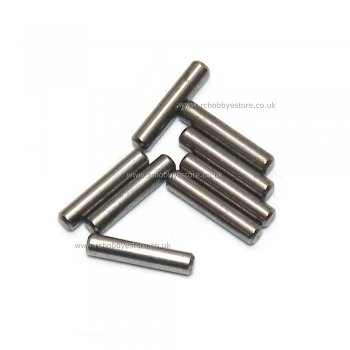 HSP 08027 Pins 2*10mm 8pcs. 1/10th scale