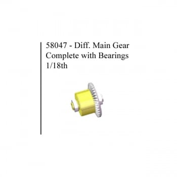 HSP 58047 Diff Gear Complete HSP 1/18 scale Spare Part