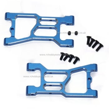 HSP 286021 (86605) Rear Lower suspension Arm Alloy upgrade (2pc) 1/16th Buggy/ Truggy
