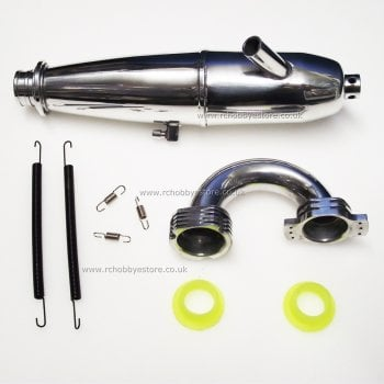 HSP 81084 Exhaust Pipe Set with fixings HSP 1/8th Scale