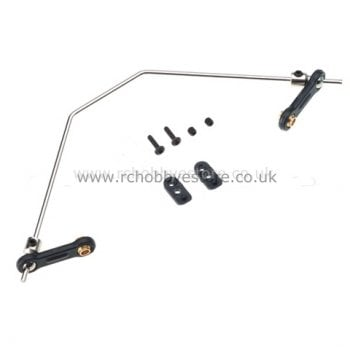 HSP 60028 Rear Sway Bar and Links 1/8 Scale