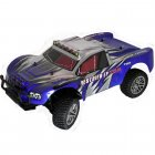 94170TOP 1/10 Brushless Rally Race Truck - Lipo Powered Short Course RC Truck 2.4GHz