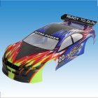 01024 1/10 Scale RC Car Painted Body Shell