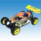 BAZOOKA 1/8th Scale 4WD Off-Road Nitro Racing RC Buggy complete with 2.4GHz Radio