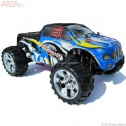 BEHEMOTH Nitro Powered  RC Monster Truck RTR 1/10 Scale with 2.4GHz Radio