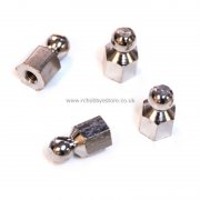 06023 Shock Ball Studs 4 pcs. for HSP Atomic, Tyranno Himoto etc.