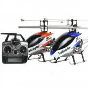 9116 4CH Metal frame Single Blade RC Helicopter with 2.4GHz LCD Transmitter