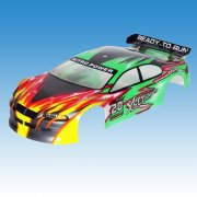 01023 1/10 Scale RC Car Painted Body Shell HSP Wind Hobby etc