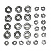 81070 Full bearing set for 1/8 scale Cars Bazooka Tornado Rapido etc.