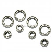 102068 Wheel Mount Ball Bearings set 8 pcs for 1/10 scale Redcat Exceed HIMOTO