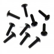 60079 3*12 Cap Head Self-tapping Screw 10pcs. HSP Himoto Wind Hobby Spare Parts