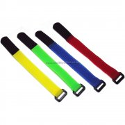 RC Battery Strap 200mm Pack of 4 mixed colours