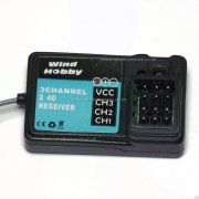 28464B (2.4GHz) 3 channel receiver for HSP Wind Hobby Himoto etc.
