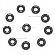 Drive shaft O-ring seals for 1/16th scale drive cups ID 2.5mm x OD 5.5mm