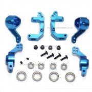 Aluminium Hub Set Upgrade bundle - Blue/Purple, 102010, 102011, 102012, Bearing Set, Bushes & Screws