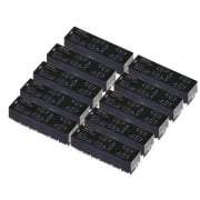10 X G6A-434P 4PDT PCB Relay 6v coil (4.5-7.5V range) Pack of 10