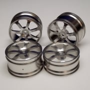 106672 Metal Alloy Wheels Rear Pair For RC 1:10 Off Road Buggy.